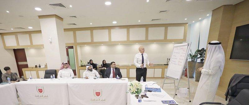 برنامج تدريبي لتطوير المحاكم التجارية