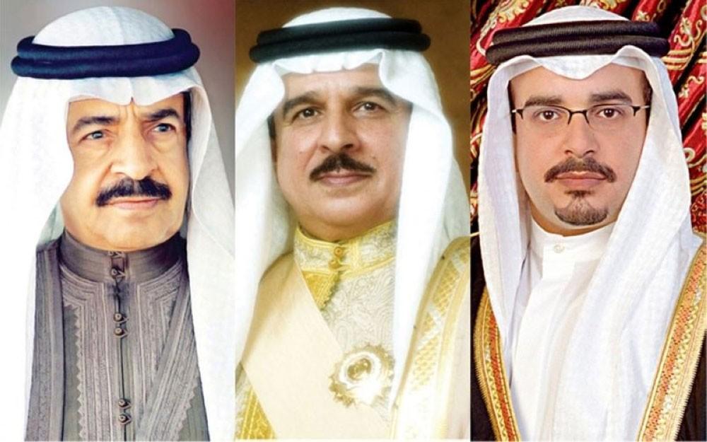 جلالة الملك وسمو رئيس الوزراء وسمو ولي العهد يتبادلون التهاني